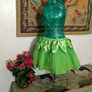 Disney size 8 tinkerbell costume skirt